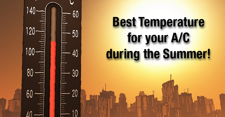 Best Temperature for AC During Summer