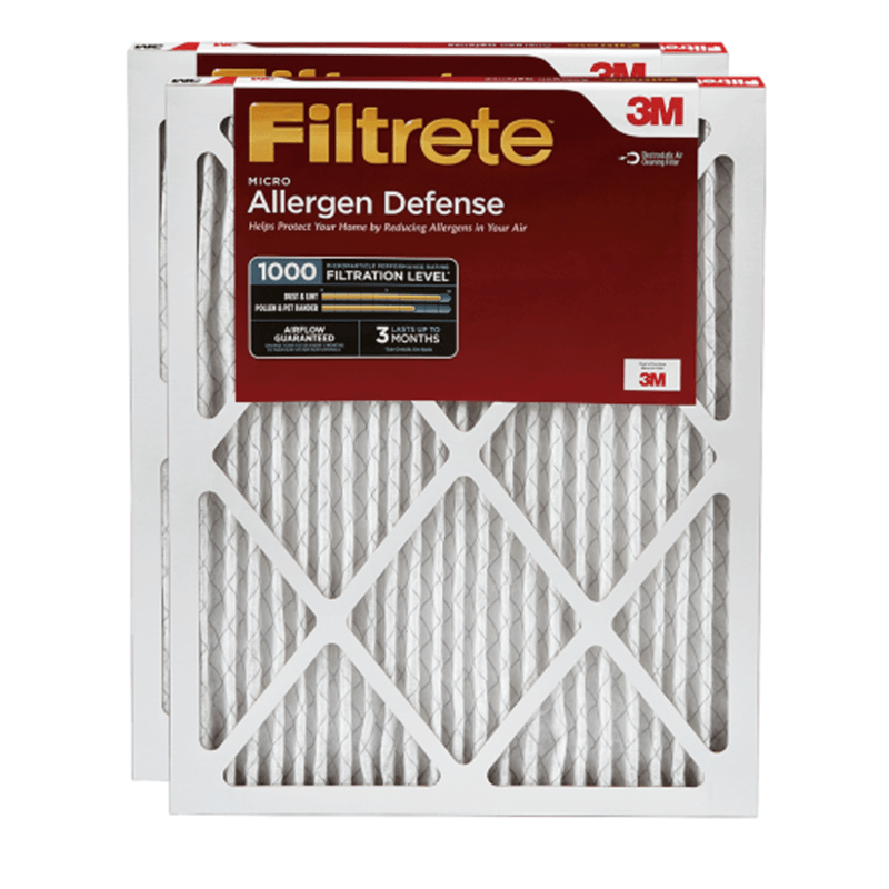 20 x 36 x 1 Filtrete Micro Allergen 1000 product photo Front View thumbnail