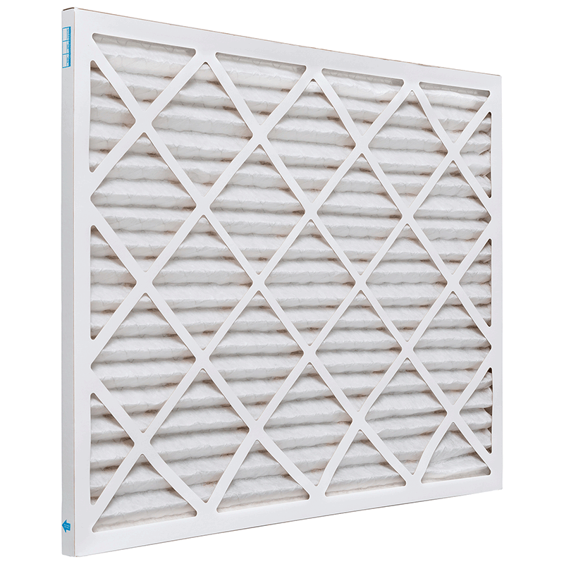 12 x 12 x 1 MERV 8 Pleated Air Filter product photo Side View thumbnail