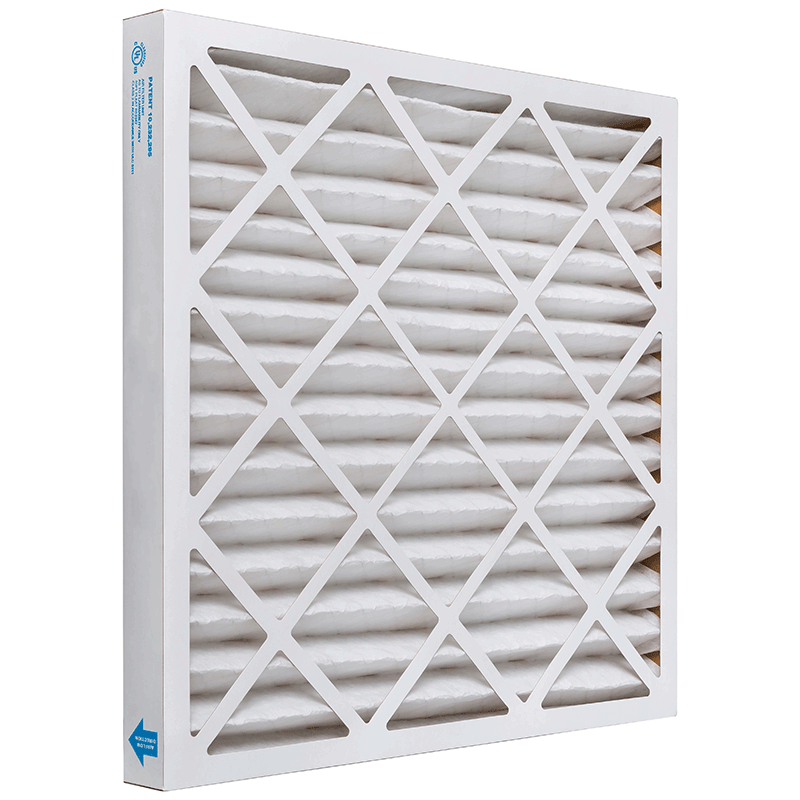 20 x 22 x 2 MERV 11 Pleated Air Filter product photo Side View thumbnail