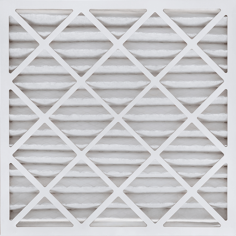 16 3/8 x 21 1/2 x 2 MERV 11 Pleated Air Filter product photo Front View thumbnail